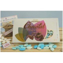 Confetti Maxtris sfumati Celeste al cioccolato