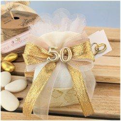 Sacchettino nozze D'oro