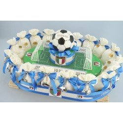 Stadio con scarpette da Calcio dell'Italia