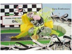 Bomboniere Ciclismo Pista con Ciclista