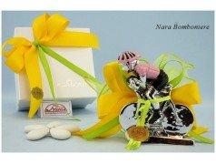 Bomboniere Ciclista Maglia Rosa