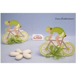 Scatolina Bomboniera Ciclista