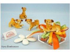 bomboniere Cuccioli di Cane montati su Plexiglas