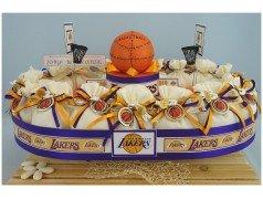 Bomboniere Basket lakers