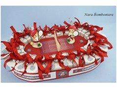 Bomboniere-comunione -cresima-tema-tennis