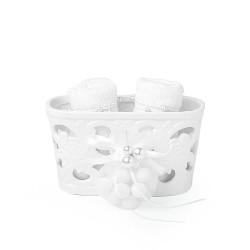 Ceramica Hervit porta asciugamani in porcellana 27431