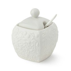 Bomboniera Zuccheriera Hervit in porcellana 27844