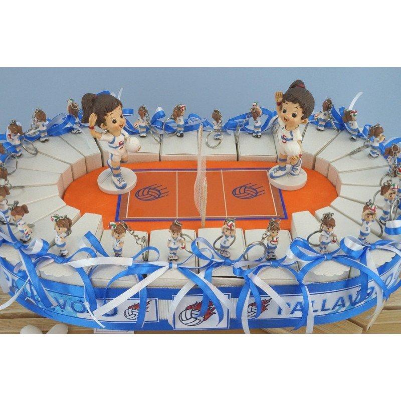 Bomboniere-giocatrici-campo-di-pallavolo