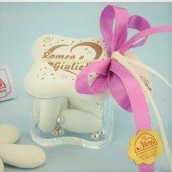 Scatolina porta confetti personalizzata