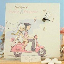 Orologio Grande personalizzato per Matrimonio