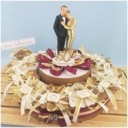 Bomboniera per 50 anni di matrimonio