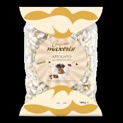 Confetti incartati singolarmente al gusto affogato al cioccolato