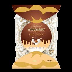 Confetti incartati singolarmente gusto mix cioccolato