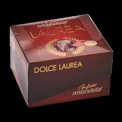 Confetti incartati con scatola Vassoio Laurea