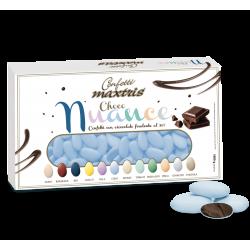 Confetti al cioccolato fondente Azzurri